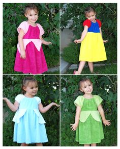 Disney Princess Swimming Suit Cover-ups (Made out of towels) Need to make these before our next trip to DW, need a boy version.