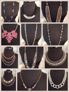 Fantastic necklaces for every style from #premierdesigns Premier Designs Jewelry  amandamarceau.mypremierdesigns.com
