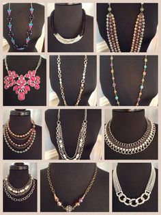 Fantastic necklaces for every style from #premierdesigns premierdesign, fantast necklac