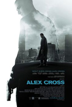 Alex-Cross.  50/50 on this one.  I really liked the books - so this might be hard.