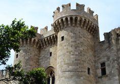 Castle-Rhodes,Greece