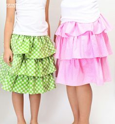 Gemma Ruffled Skirt