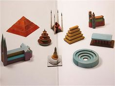 """Hermann Finsterlin """"Set of Styles. Nine Basic Architechtures"""" 1922 These are cool."""