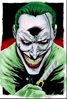 Joker by LuisFuentes on deviantART