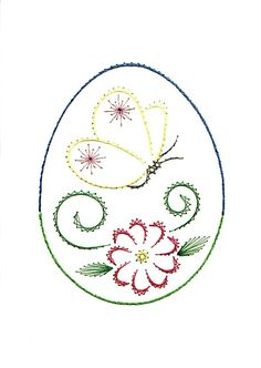 The Latest Trend in Embroidery – Embroidery on Paper - Embroidery Patterns Embroidery Cards, Learn Embroidery, Embroidery Thread, Cross Stitch Embroidery, Embroidery Patterns, String Art Patterns, Sewing Cards, Card Patterns, Hand Quilting