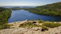 10 Incredible Hikes Under 5 Miles Everyone In Maine Should Take!   4. South Bubble Mountain and Jordan Pond: Mt. Desert, Acadia National Park
