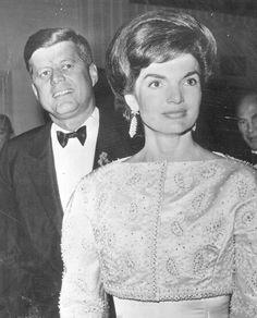 1962. 20 ou 21 Janvier. Jack et Jackie