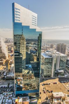 Mirror - foshay tower!!! by Saibal Ghosh on Capture Minnesota // Foshay Tower reflection in Minneapolis.  http://foshaymuseum.com/home.html