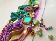 de Cor's Handmade Jewelry: Step By Step Shibori Cuff Tutorial by Serena Di Mercione Jewelry