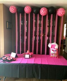 Minnie Mouse Birthday Party Ideas , Balloons