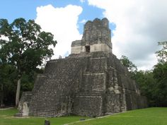 Tikal National Park - Peten, Guatemala - One of the most amazing places I've ever been. You hike through the jungle and emerge at Tikal, a Mayan city abandoned around the end of the 10th century. Absolutely incredible!