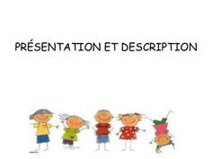 Je me présente et je me décris by IES Juan de Padilla via slideshare Core French, French Class, French Lessons, French Teacher, Teaching French, Beginning Of School, Back To School, School Stuff, French Body Parts