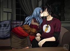 Fairy tail// Gray and Juvia