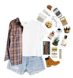 """*dont you have nothing else to do?*"" by my-black-wings ❤ liked on Polyvore featuring RE/DONE, Monki, Timberland, Børn, Davines, Byredo, NARS Cosmetics, Jayson Home and Urban Decay"