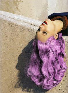 Purple #hair #haircolor