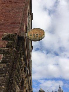 Vintage - Swan Barracks sign