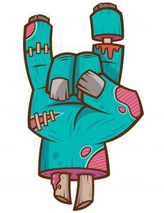 Graffiti Art Drawings, Zombie Drawings, Graffiti Doodles, Graffiti Cartoons, Graffiti Characters, Cool Art Drawings, Street Art Graffiti, Art Drawings Sketches, Doodle Art