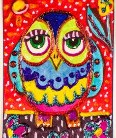 Hey, I found this really awesome Etsy listing at https://www.etsy.com/listing/236395722/funny-owl-print-owl-art-kids-room-decor