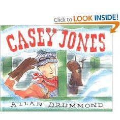 For Tall Tale Unit Life Skills Activities, Casey Jones, Tall Tales, Book Lists, Childrens Books, Trains, Unit Studies, The Unit, Reading