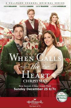 When Calls the Heart S4 2Hr Christmas Special. December 25th on Hallmark Channel 8/7c #Hearties