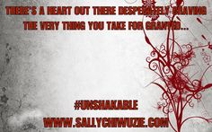#UNSHAKABLE: Grateful for love, for life, for all things bright & beautiful | Sally Chiwuzie