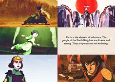 Avatar: The Last Air Bender, The Earth Kingdom People
