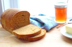 Anadama Bread  http://www.island-bakes.com/recipes/2017/3/30/anadama-bread