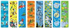 Amazon.com: Raymond Geddes Dr. Seuss, Bookmarks, 50 per Bag, Assorted (66869): Office Products