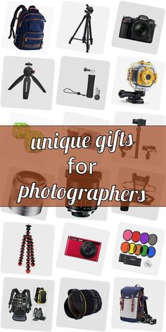 Are you looking for a present for a photographer? Get inspired! Checkout our ulimative collection of presents for phtographers. We show you great gift ideas for photographers which are going to make them happy. Buying gifts for photographers doenst need to be difficult. And do not necessarily have to be costly. #uniquegiftsforphotographers Unique Gifts, Great Gifts, Chicken Zucchini, Gifts For Photographers, Popsugar, All In One, Presents, Entertaining, Gift Ideas