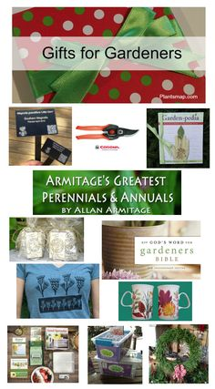 Gifts for Gardeners  Plants Map is pleased to share some freshly picked gifts for gardeners from our Resource profiles this holiday season.  And don't forget to treat yourself too.  Happy Holidays,  Plants Map