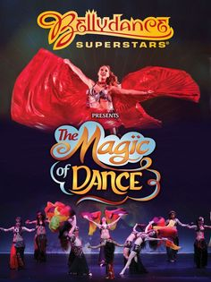 """Moria Chappell with The Bellydance Superstars tour """"The Magic of Dance"""""""