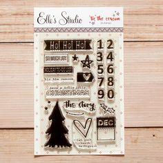 'Tis The Season Stamp Set from Elle's Studio