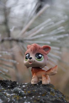littlest pet shop timber wolf