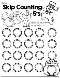 Spring Kindergarten Math Worksheets (Common Core Aligned
