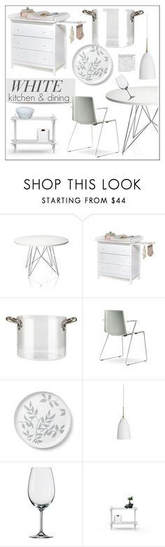 """White Kitchen & Dining"" by lovethesign-eu ❤ liked on Polyvore featuring interior, interiors, interior design, дом, home decor, interior decorating, Magis, knIndustrie, Pordamsa и Koziol"