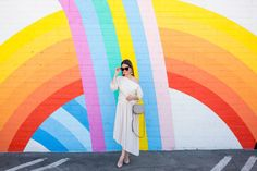 Los Angeles Rainbow Mural