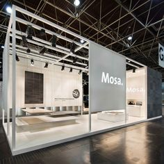 #Mosa exposition at #Euroshop in 2014