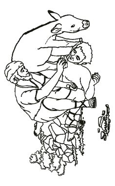 the greedy farmer luke 12 from thru the bible coloring pages for