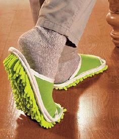 "Talk about a ""gadget"" for that kitchen floor...this looks useful and fun!!!"