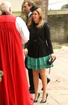 Princess Beatrice of York Memorial Service For Mark Shand on 11 September 2014 at St Paul's Church in London, England