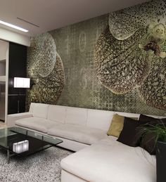 Panoramic wallpaper ORCHID Velvet Collection by N.O.W. Edizioni