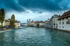 allthingseurope:  Lucerne, Switzerland (by Alex Poison)