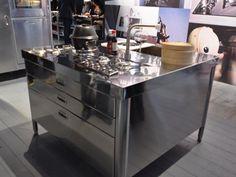 Gorgeous Kitchen Island Workstations from Alpes Inox