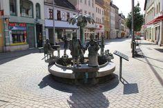 Der Stadtbrunnen von Weißenfels | momentaufnahme