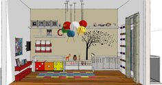 Quarto Infantil Casual e Contemporâneo - Projeto Decora