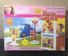 Barbie McDonald's Fun Time Drive -trough Playset(2001) NRFB
