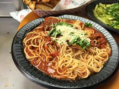 Spaghetti and Meatballs delivered to your door step. Order now! #BMPPEagleRock  www.bigmamaspizza.com/locations/EagleRock/ Phone: (323) 255-8500