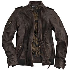 Jacket - BMW Heritage Leather Jacket - Womens - - A BMW Motorcycle Parts and Accessories