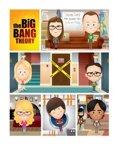 Jerrod Maruyama Disney | ilustraciones Jerrod Maruyama the big bang theory Ilustraciones de ...