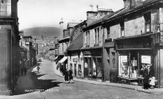 Kilsyth Stirlingshire Scotland | kilsyth main street 1